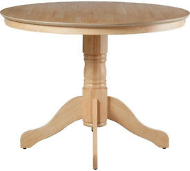 Kentucky Round Fixed Top Dining Table - Natural