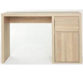 Sicily Limed Oak Desk