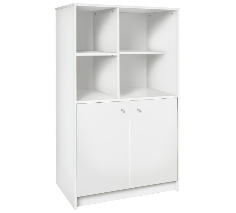 Calgary 2 Door Storage Unit - White