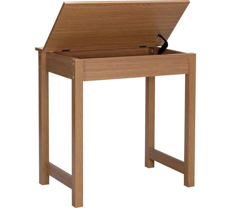 Denbigh Office Desk - Oak Effect