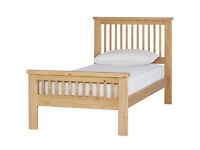 Collection Aubrey Single Bed Frame - Oak