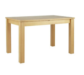 Swanbourne Oak Veneer Extendable Dining Table