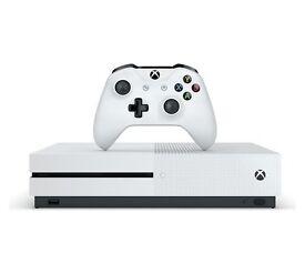 Xbox one s (white)