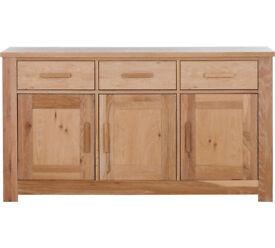 Schreiber Harbury Large Sideboard - Oak
