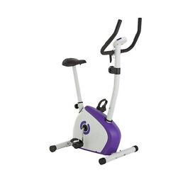 Opti Magnetic Exercise Bike - Purple