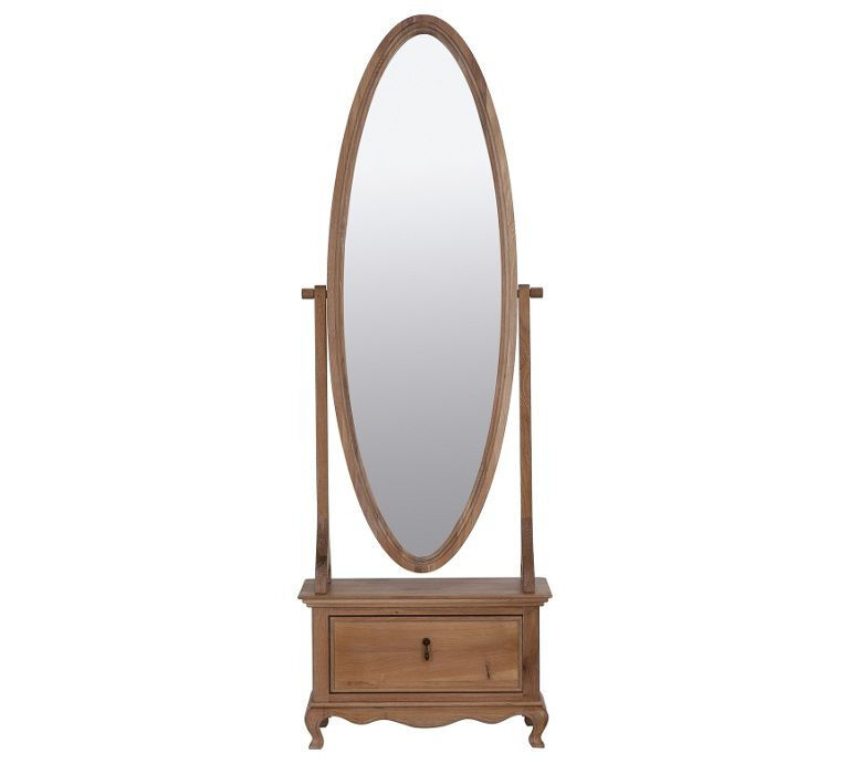 """Schreiber Burleston Cheval Mirrorin Bradford, West YorkshireGumtree - Furniture is new. please message me for info. """"The Schreiber Burleston Cheval Mirror comes with a soft close drawer, that is great to store your small valuables, make up and trinkets. Made from oak and finished in oak veneer, the drawer features..."""