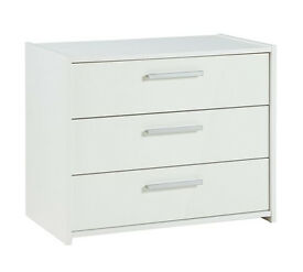 New Sywell 3 Drawer Chest - White