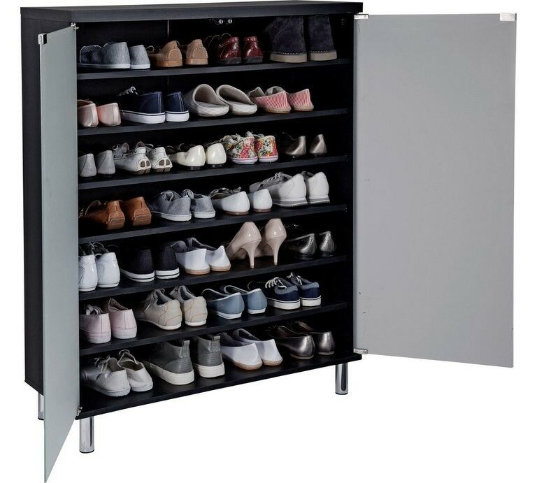 Going Cheap Shoe Cabinet Argos With Glass Door In A Good