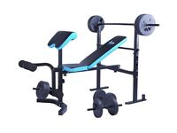 Gym work out bench