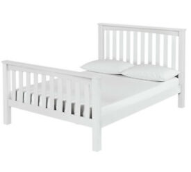 Maximus Kingsize Bed Frame - White
