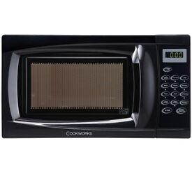 Cookworks 700W Standard Microwave EM7 - Black