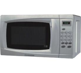 Cookworks 700W Standard Microwave EM7 - Silver