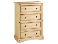 Collection Puerto Rico 4 Drawer Chest - Light Pine