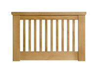 Aubrey Single Headboard - Oakstain