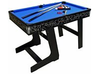 4 in 1 fold away games table