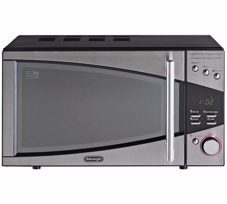 De'Longhi Standard Microwave-Stainless Steel