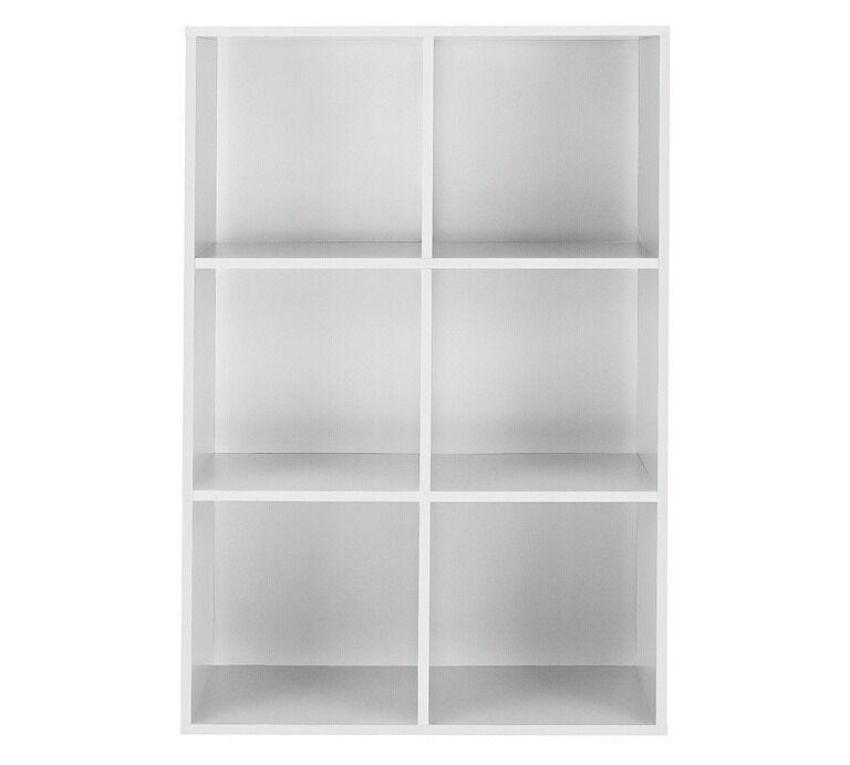 Phoenix 6 Cube Storage Unit - White