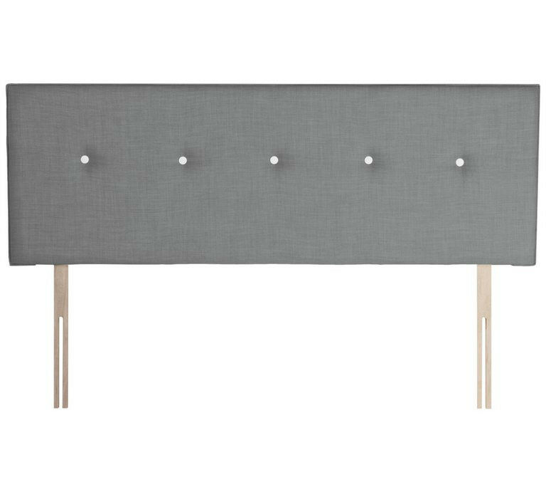 Airsprung Dalham Grey Headboard - Kingsize
