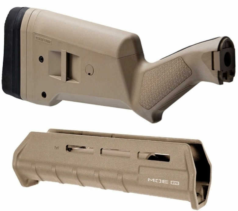M-LOK Magpul For Mossberg 500//590 SGA Stock Forend Combo Black MAG490 MAG494BLK