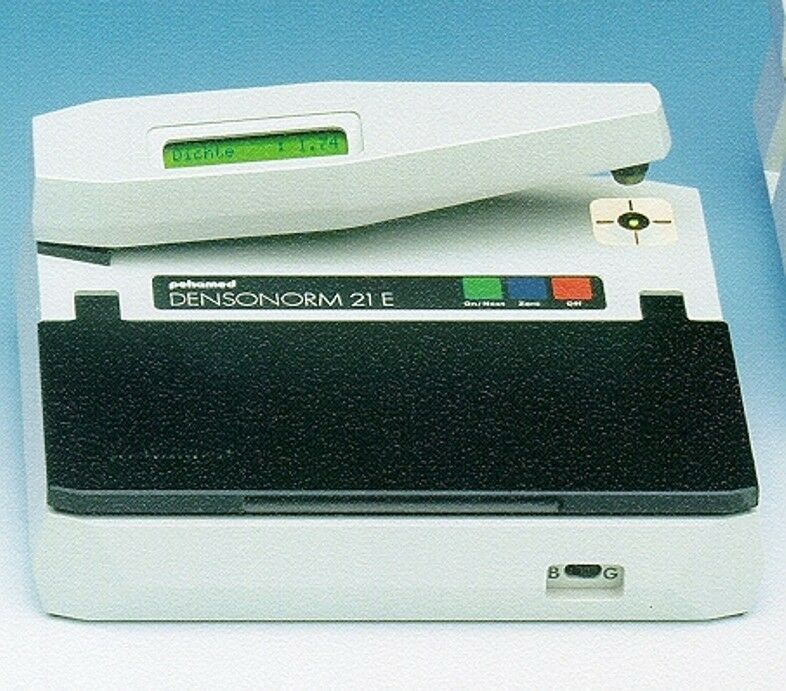 NEW X-RAY SENSITOMETER AND DENSITOMETER-DENSONORM 21 ECO-(40450) FILM PROCESSOR