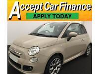 Fiat 500 FROM £51 PER WEEK!