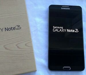 Black Samsung Note 3 Unlock