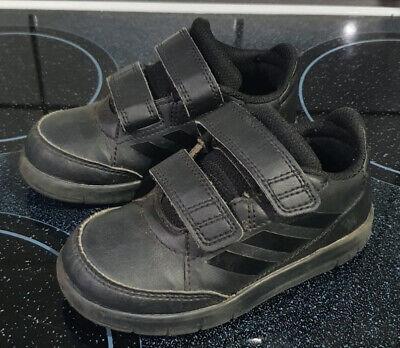 Schwarze Turnschuhe - Gr.25 - adidas - neuwertig  online kaufen