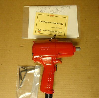 Pneumatic Pulse Impact Wrench 12 Square Drive Npk Npw-100pts