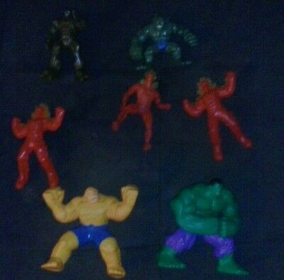 incredible hulk and fantastic four action figures and toys lot marvel comics wow
