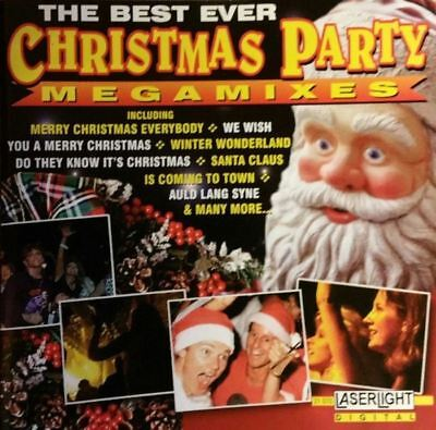THE BEST EVER CHRISTMAS PARTY MEGAMIXES (CD, album, mixed) very good (The Best Christmas Party Ever)