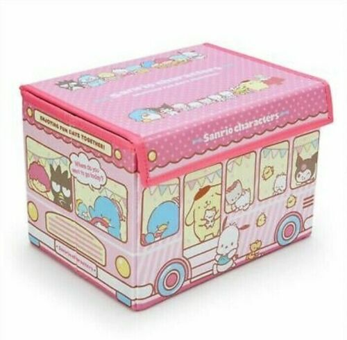 Sanrio Characters Folding Storage Box with Lid