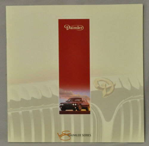 Daimler 1998 V8 Series Brochure UK version  23 pages with overlays