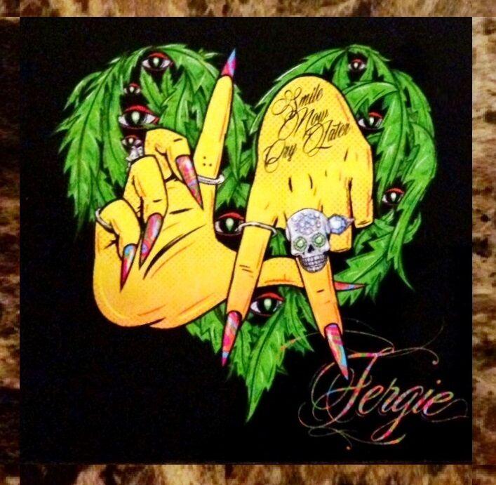 FERGIE & YG L.A. Love Ltd Ed RARE Sticker +FREE Pop Dance Hip Hop Rap Stickers!