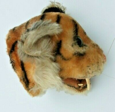Vintage Steiff Tiger trophy head
