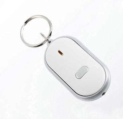 HOCA LED Key Finder Locator Keychain Find Lost Keys  Whistle Sound Control