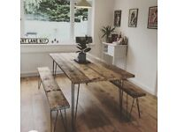 Dinning Table & Benches