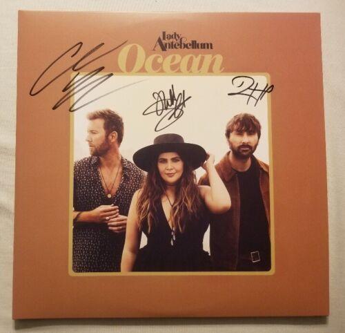 Lady Antebellum Autographed Oceans Vinyl LP