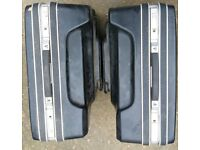 pair of motorbike SIGMA panniers with brackets