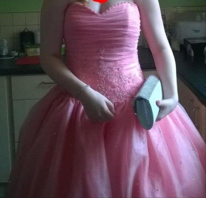 Stunning pink prom/Bridesmaid dress 10-12 | in Sheffield, South ...
