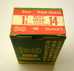 Stelco Wood Screws..