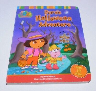 Dora the Explorer: Dora's Halloween Adventure by Sarah Willson (2003, Board Boo - Dora's Halloween Adventure