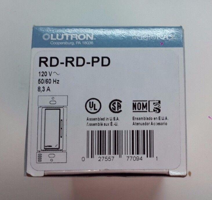 Lutron Radio RA2 RD-RD-PD PALLADIUM Accessory Control