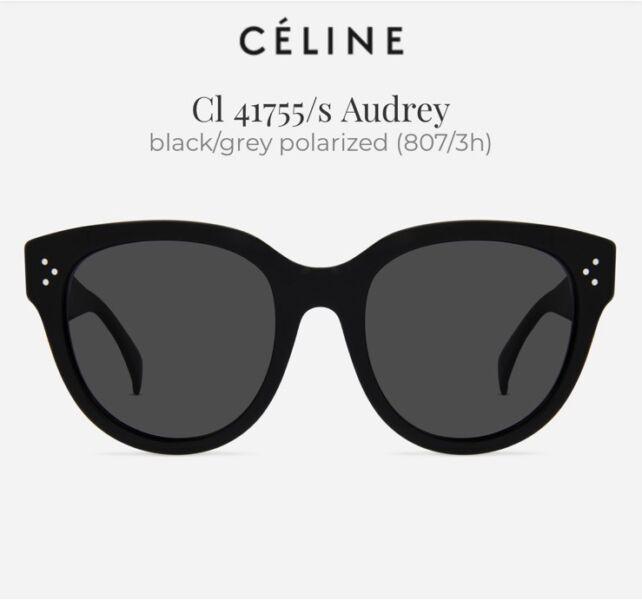 77c86c555d2 Céline CL 41755  47 S AUDREY Polarized Women Sunglasses ...
