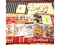 Nintendo wii/wii plus fit board and games