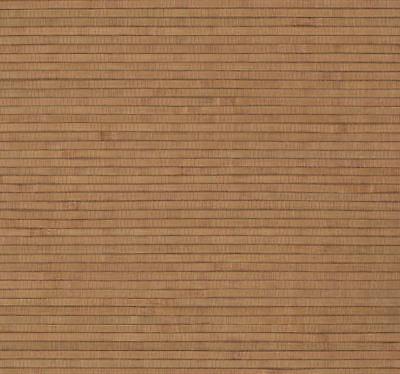 Copper Brown Bamboo Grass Grasscloth Wallpaper - Double Roll  BH1834  Bamboo Grass Cloth Wallpaper