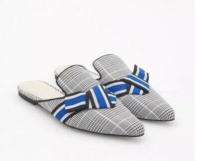 Reserved Women's Pointy Toe Mule Shoes Plaid 36 na sprzedaż  Wysyłka do Poland