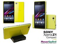 Brand new sony xperia z1 still in box phone still sealed just need gone