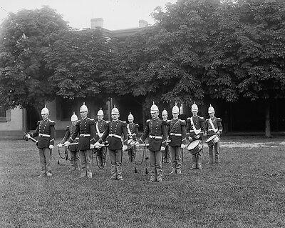 US Marine Band at Brooklyn Navy Yard circa 1901 Photo Print Us Marine Band