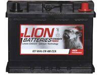 Lion 027 Car Battery - NEW