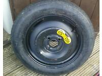 Spare tyre - T125/80R15 95M. Second hand
